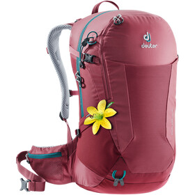 Deuter W's Futura 26 SL Backpack cardinal-cranberry